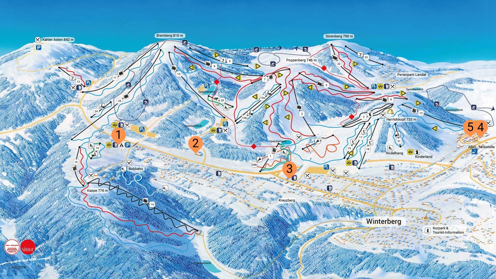 Ski verhuur locaties winterberg dichtbij de liften